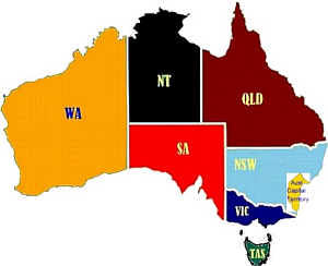 MHA State and Territory links