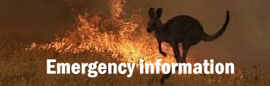 Bushfires - Emergency contacts