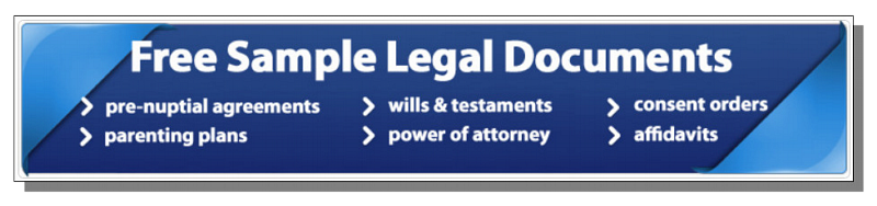 Free Sample Legal Documents - Link